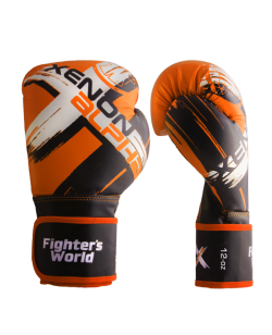 FW XENON ALPHA Boxhandschuhe oz orange/black