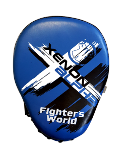 Fighter`s World XENON ALPHA Handpratze Focus Mitt blue/black 1Paar