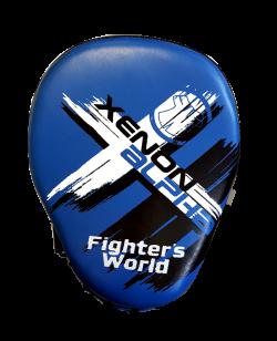 Fighter`s World XENON ALPHA Handpratze Focus Mitt blue/black 1Paar