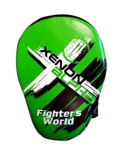 Fighter`s World XENON ALPHA Handpratze Focus Mitt green/black 1Paar