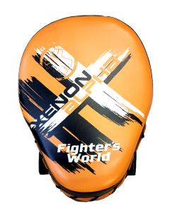 Fighter`s World XENON ALPHA Handpratze Focus Mitt orange/black 1Paar