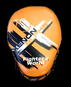 Fighter`s World XENON ALPHA Handpratze Focus Mitt orange/black 1Paar