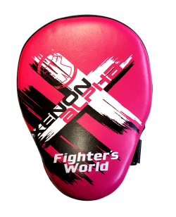 Fighter`s World XENON ALPHA Handpratze Focus Mitt rose/black 1Paar