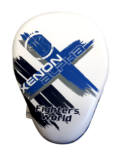 Fighter`s World XENON ALPHA Handpratze Focus Mitt ice/blue 1Paar