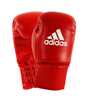 adidas Amateur Boxing Shorts rot weiß adiBTS01 | Fightshop
