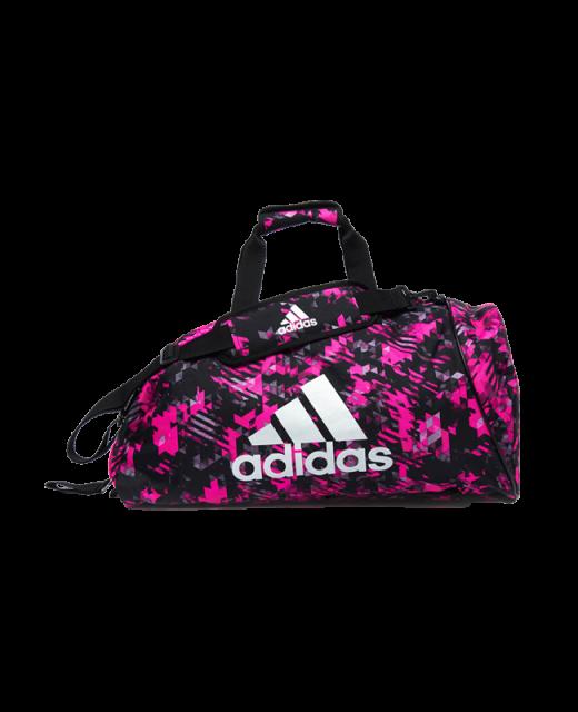adidas Sporttasche Rucksack 2 in 1Bag pink/silber camo ADIACC058MA