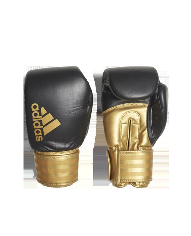 adidas Hybrid 200 Boxhandschuhe gold/schwarz adiH200