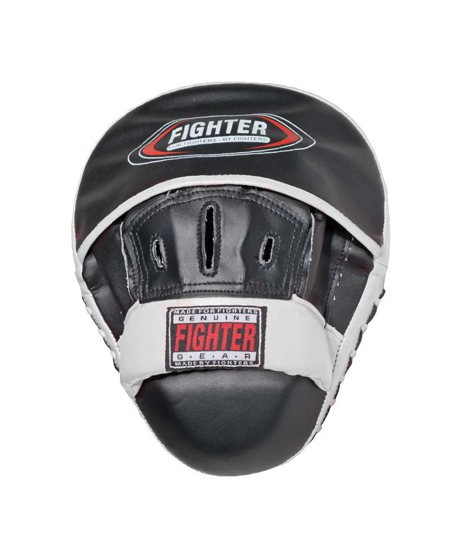 FIGHTER-BN Handmitt Hook & Jab ultra ligh schwarz/weiß  Set aus 2 Stk