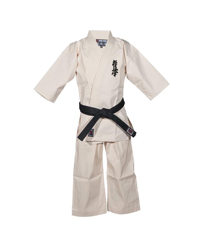 BN Honbu Gi Kyokushinkai 210 cm Karateanzug rohweiss 210cm