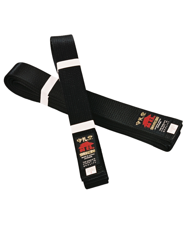 SHUREIDO Dan-Gurt Satin schwarz 340 cm
