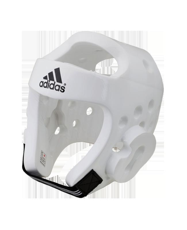 adidas Taekwondo Kopfschutz Gr. S weiß WTF approved, adiTHG01 S