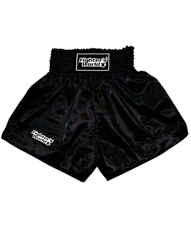 FW Boran Thaiboxing Short schwarz/weiß S S