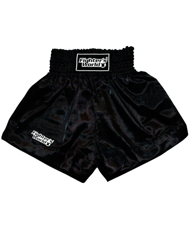 FW Boran Thaiboxing Short schwarz/weiß M M