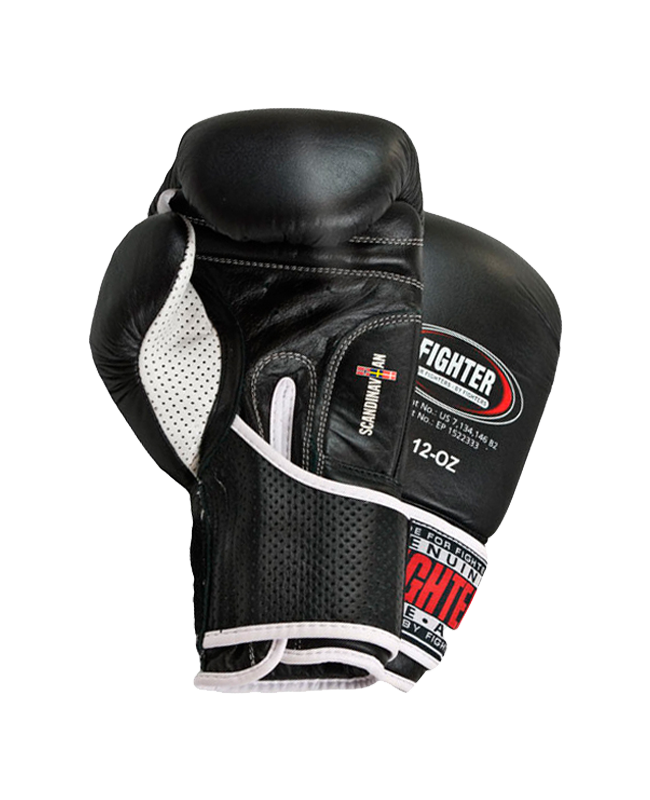 FIGHTER Boxhandschuhe Pro Next schwarz 16oz