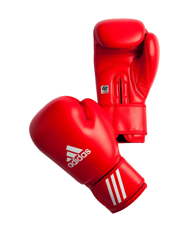 adidas AIBAG1 Boxhandschuh Contest AIBA Licensed 12 oz rot 12oz