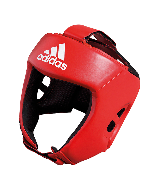 adidas AIBAH1 - Kopfschutz Boxing Aiba rot, CE L