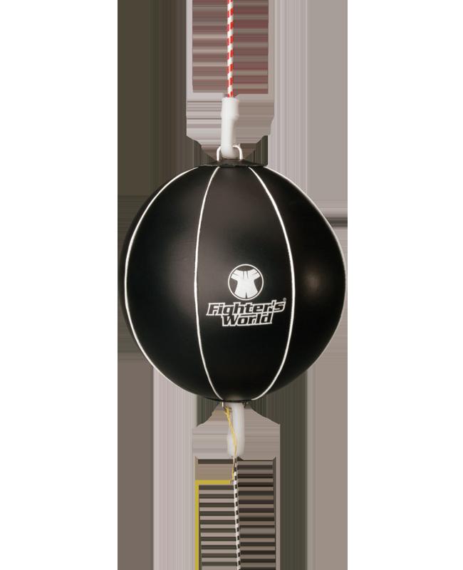 FW- Doppel - End Ball Leder, incl. Gummiseil