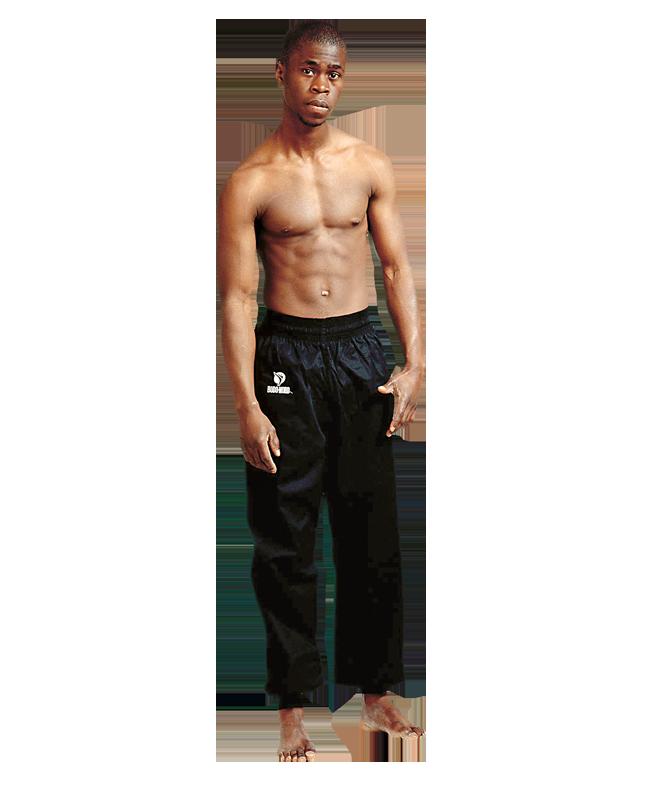 FW Kung Fu Pants Gr M schwarz Hose 170cm 170cm