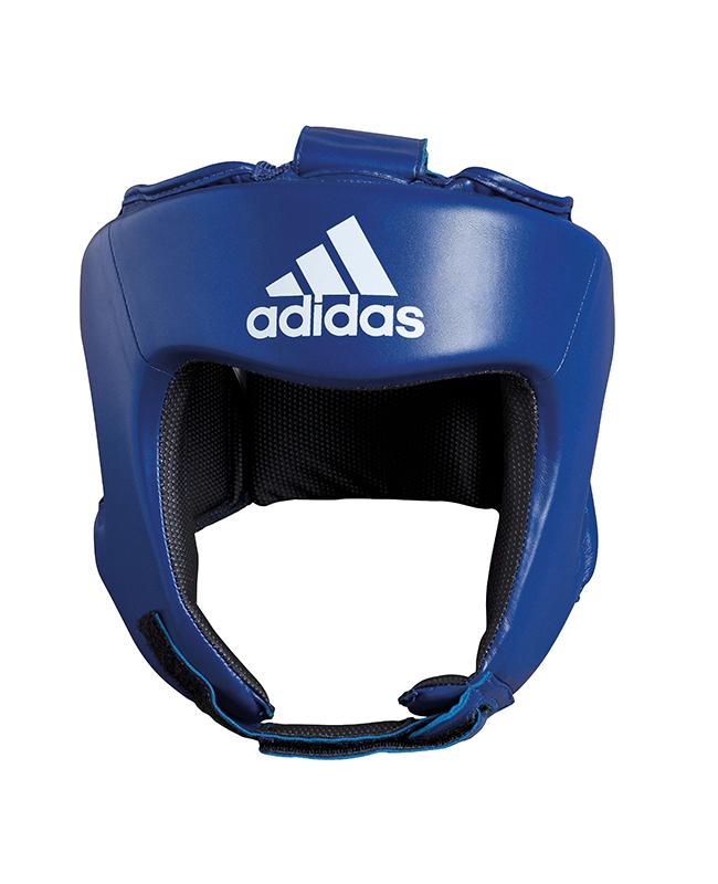 adidas AIBAH1 - Kopfschutz Boxing Aiba, Gr. M  blau, CE M