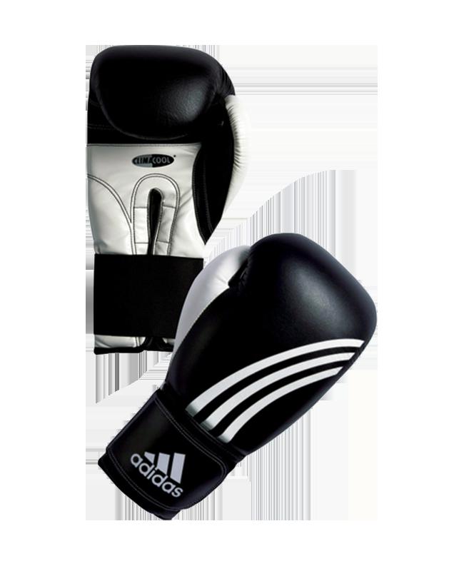 adiBC01 Boxhandschuh Performer 10oz schwarz/weiß adidas 10oz