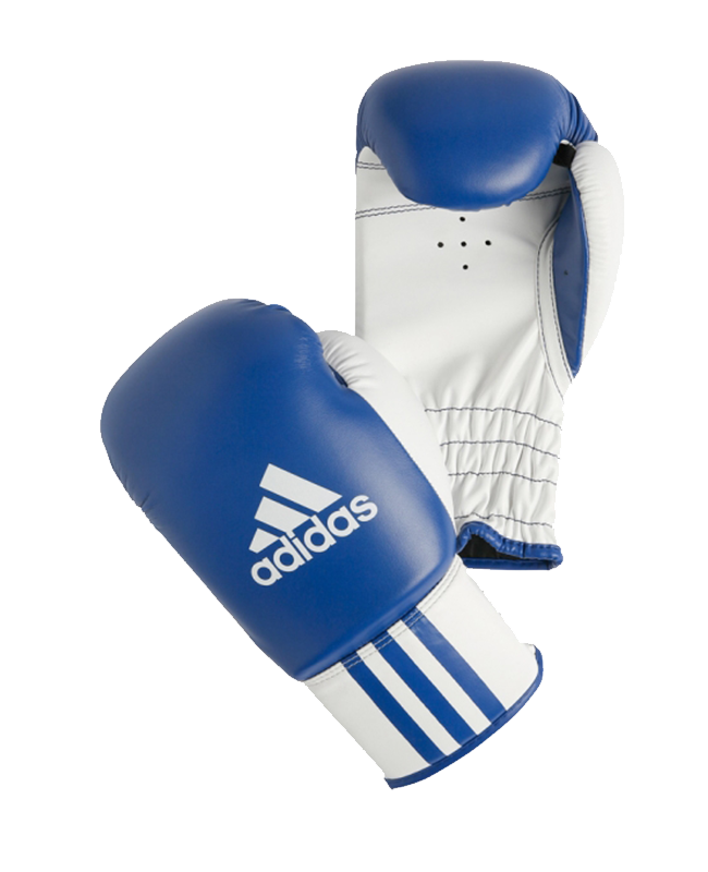ADIBK01 ROOKIE 2 Boxing Glove blau/weiß adidas 6oz