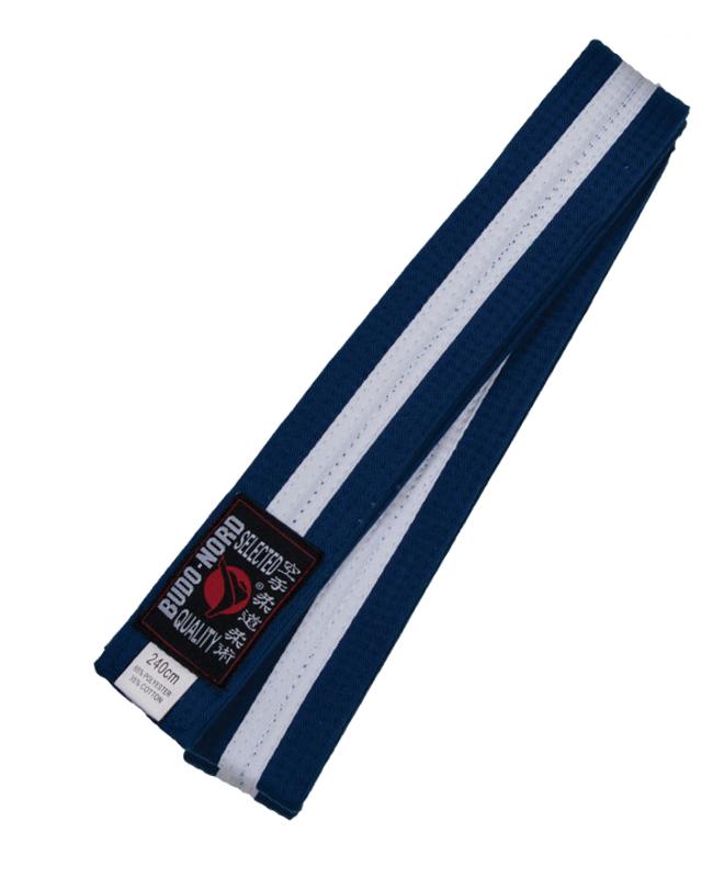 Farbgurt blau/weiß/blau 280 cm 280 cm
