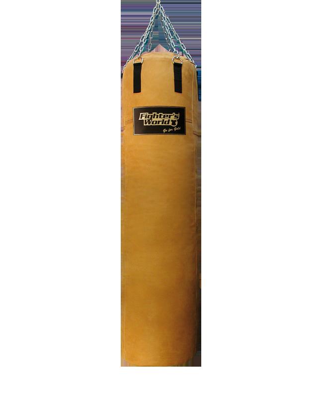 FIGHTERSWORLD® Heritage Boxsack Leder authentic Style  XXL Super size 200x47cm 200cm