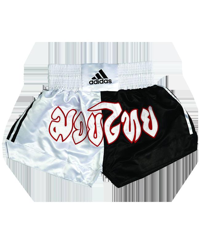 adiSTH01 Thai Short L Schrift schwarz/weiß adidas L