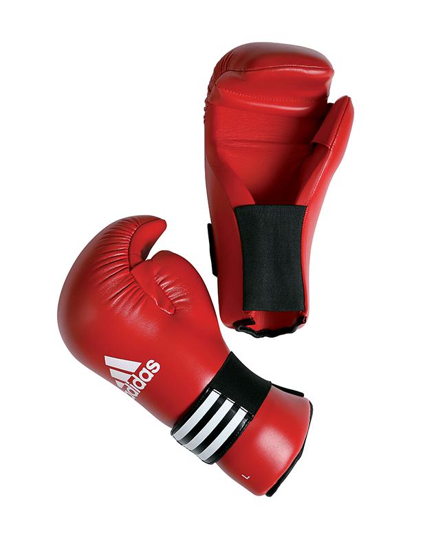 adidas ADIBFC01 - Semi Contact Glove, rot