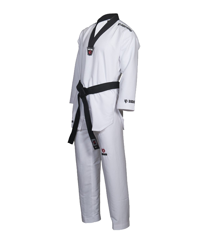 TAEKWONDO Anzug BN Zephyr 160 cm schwarzer Kragen 160cm