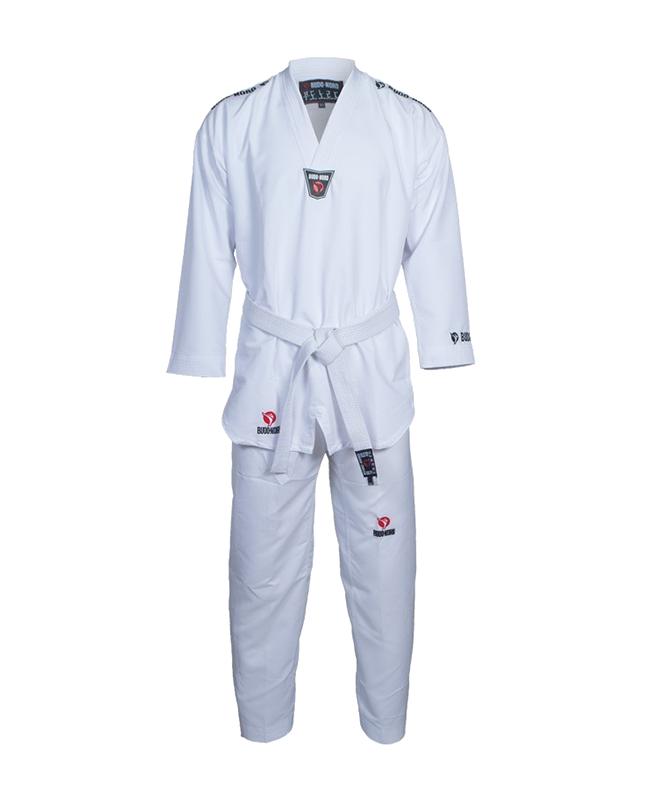 TAEKWONDO Anzug BN Zephyr 180 cm weißer Kragen 180cm