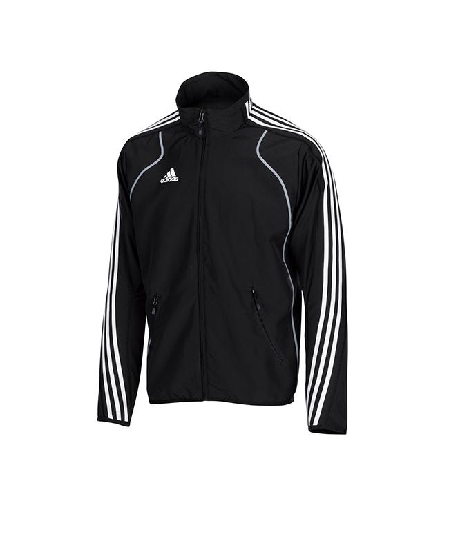 adidas T8 Teamwear Jacket Men size XL blau/weiß