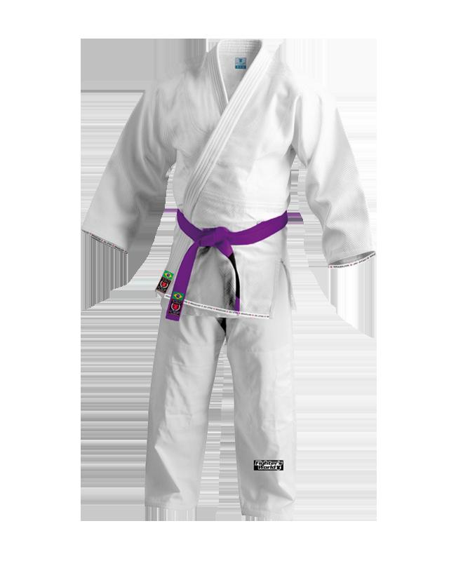 FW RIO Brazilian Jiu Jitsu Kimono weiß A1 A1