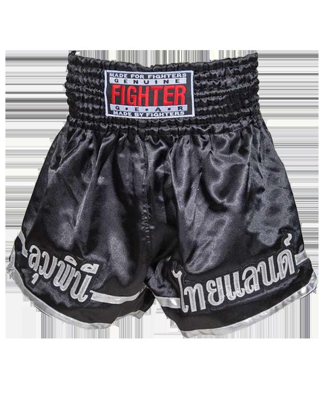 FIGHTER Thaishort 029 schwarz L L
