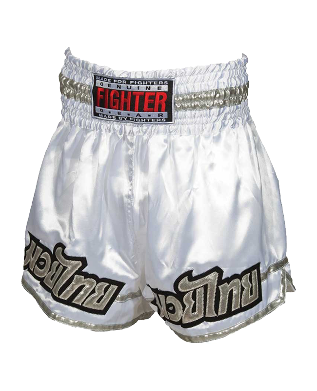 FIGHTER Thaishort 030 weiss XL XL
