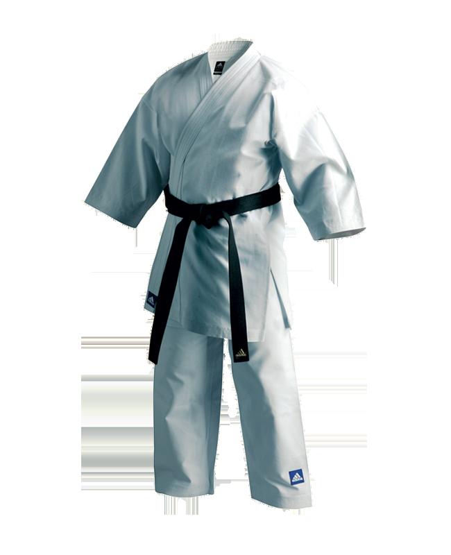 adidas K380E Bunkai Karateanzug weiß European Cut
