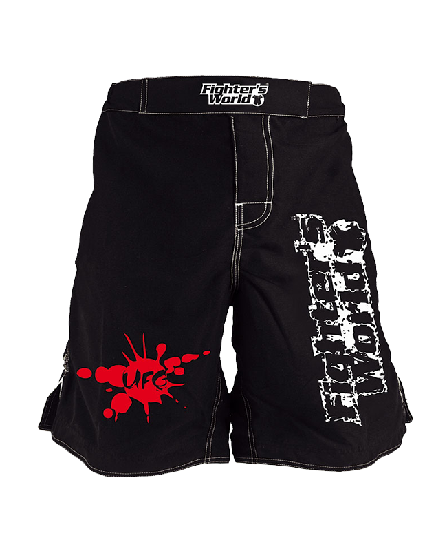FW MMA Fightshort UFG schwarz
