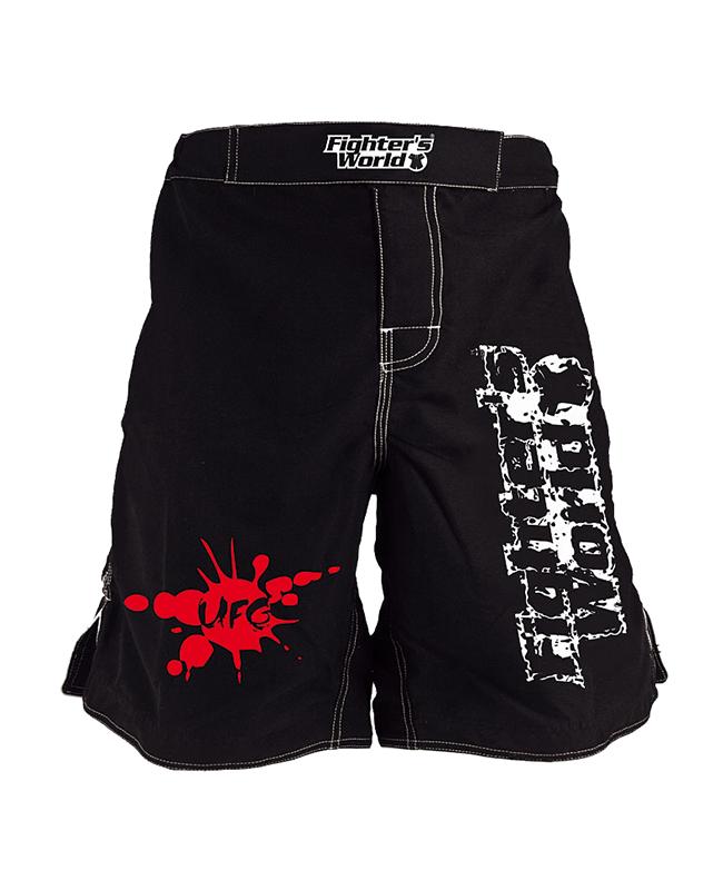 FW MMA Fightshort UFG schwarz L L