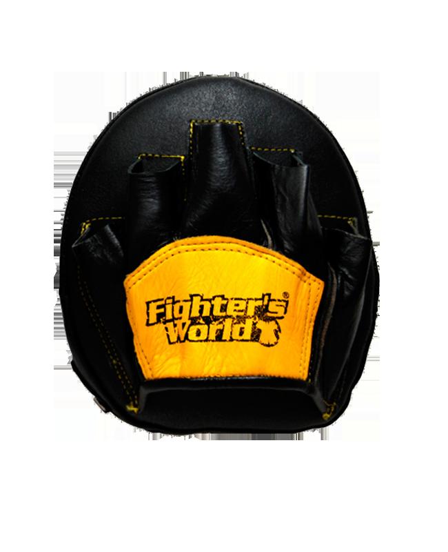FW Handmitt FX Speedpunch schwarz/gelb Leder 1Stk.