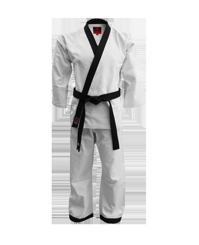 FW Hapkido Anzug Diamond Grip 160 weiß korean Style schwarzes Revers wy2018 160cm
