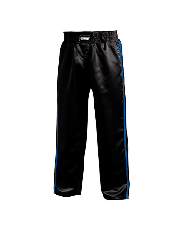 FW Kickboxhose Warrior schwarz/blau 150 150cm