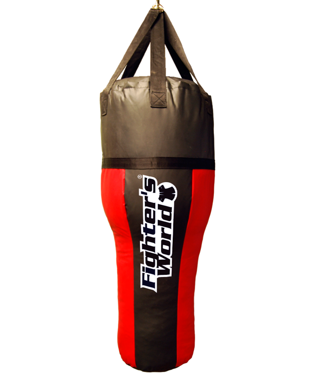 FW Boxsack Angle Bag, Uppercut rot/schwarz 110cm