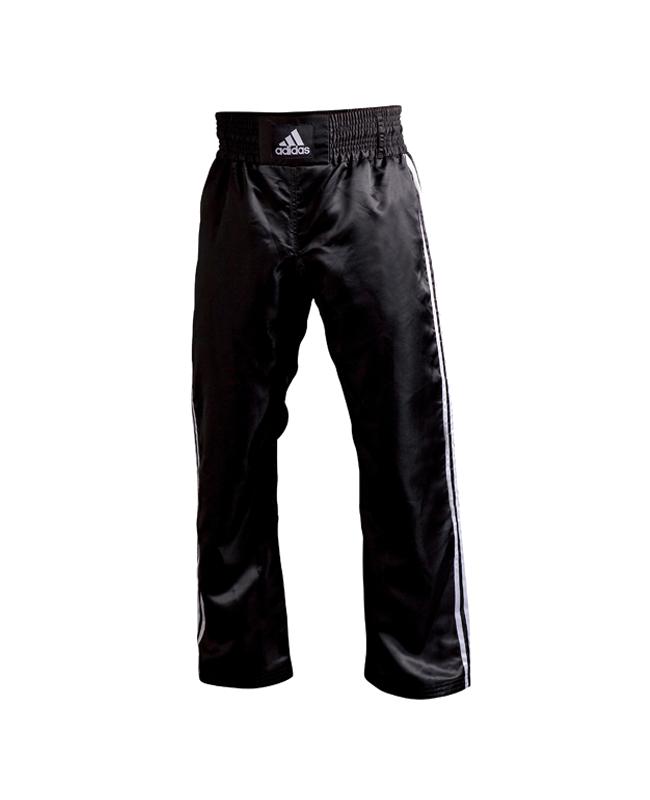 adiPFC01 Kickboxhose 150 schwarz weiße Streifen adidas 150cm