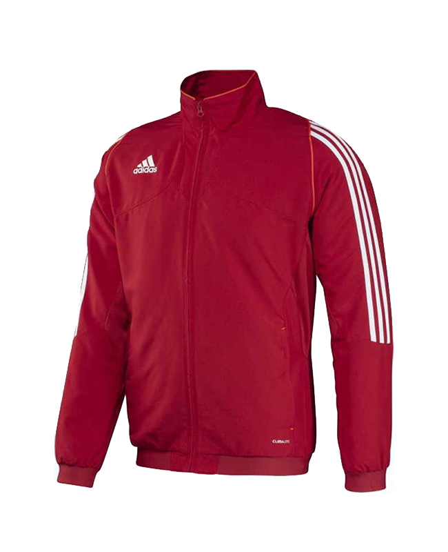 adidas T12 Team Jacket men Gr.10 rot XL adi X12735 10