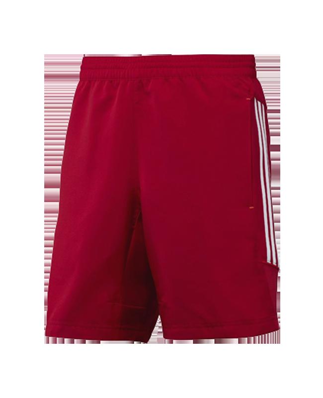 adidas T12 Teamwear Wv Shorts men Gr.08 rot L adi X12930 08