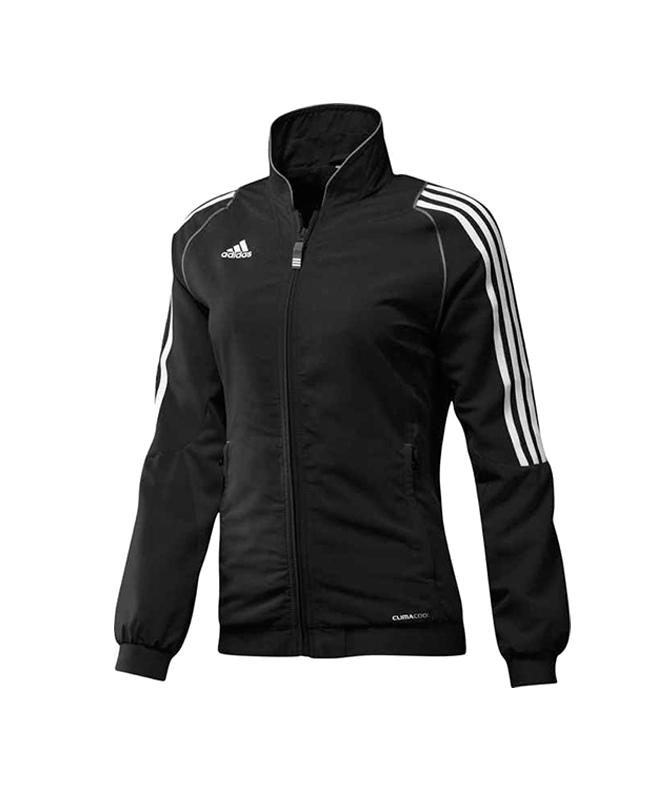 adidas T12 Team Jacket WOMAN Gr.38 schwarz +S adi X13514 38