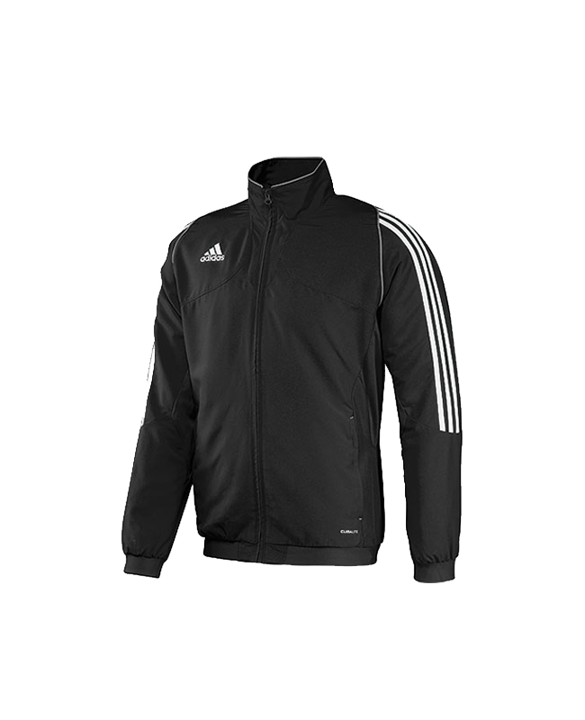 adidas T12 Team Jacket Youth Gr.152 schwarz M adi X34277 152cm