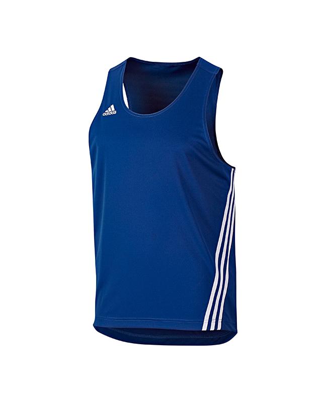 adi Boxer Top Base Punch Gr. L blau/weiß adidas V14120 L