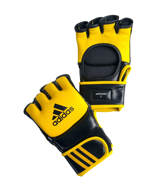 adiCSG041 Ultimate Fight Glove UFC gelb L L