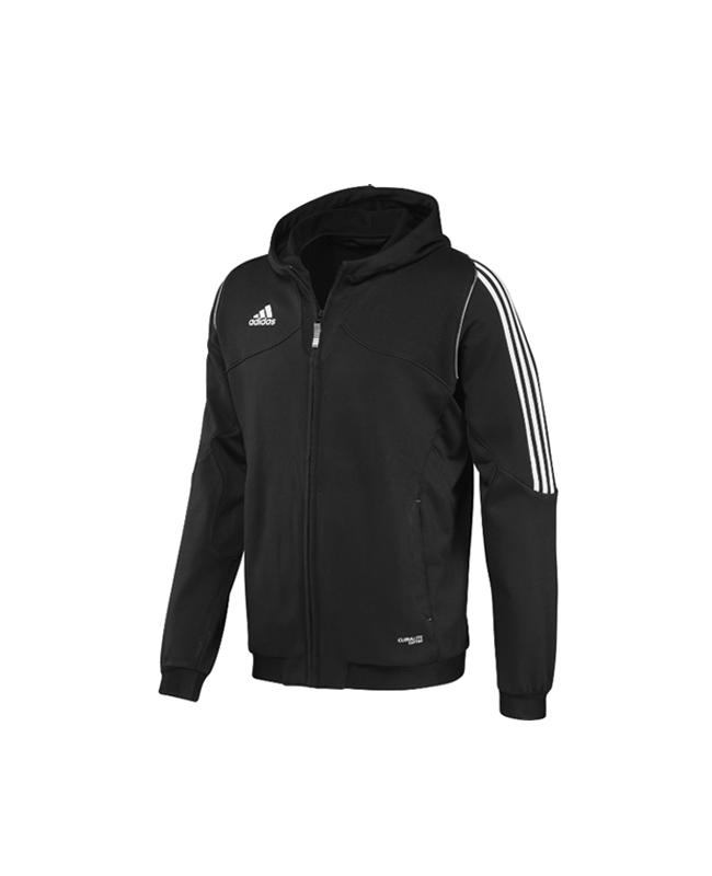 adidas T12 Team Hoodie Youth schwarz adiX34271 128cm